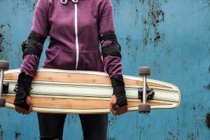 longboard for skateboarders scooter mcgoo